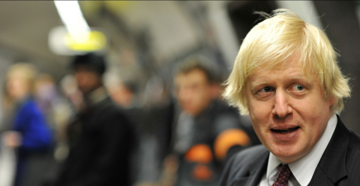 Boris Johnson. Photograph: Andrew Parsons/ i-Images